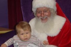Early Santa 2004 006