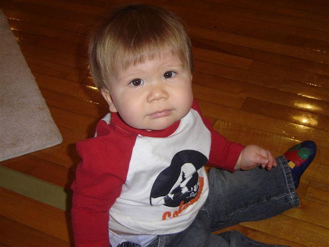 AJ first Bday 2005 008