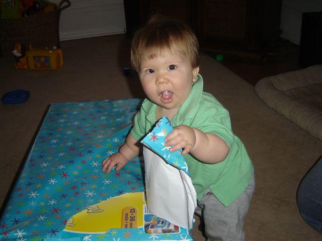 AJ first Bday 2005 061
