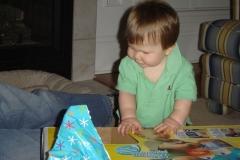 AJ first Bday 2005 063