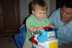 AJ first Bday 2005 064