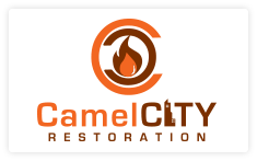 Camel City Restoration logo